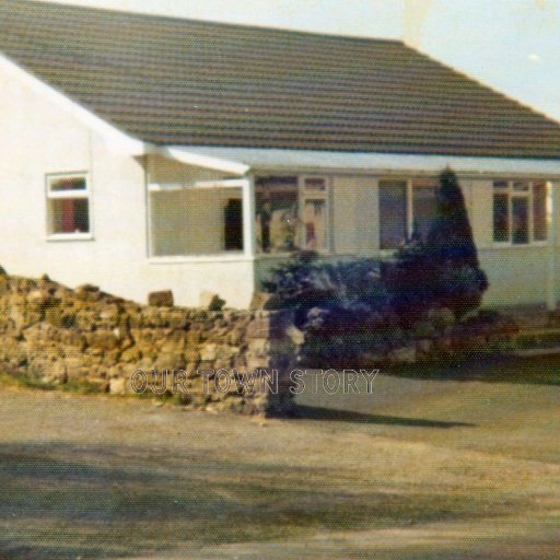 The old transport cafe, Nadder Views, Ugford, 1980