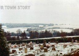 Wilton cemetery next to Ugford