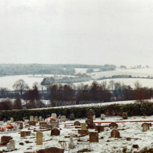 Wilton cemetery next to Ugford
