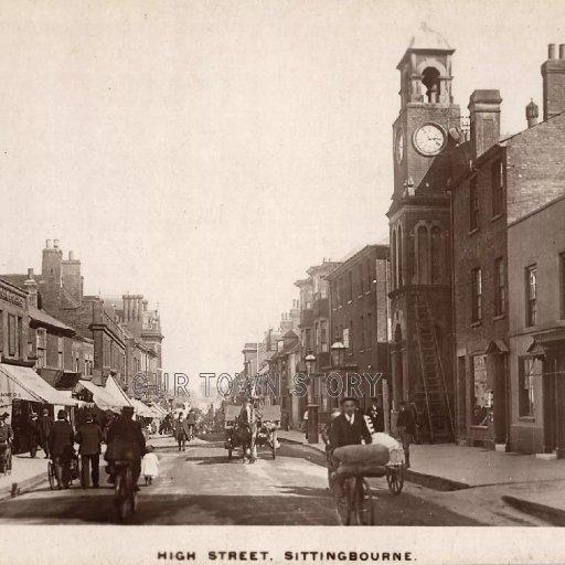 High Street, Sittingbourne, c. 1900s
