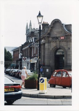 The Square, Wimborne Minster, 1998
