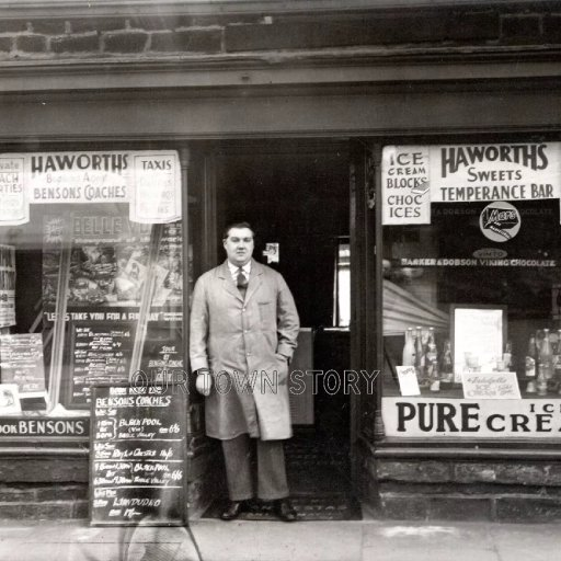 Haworths Shop, Location Unknown, 1949
