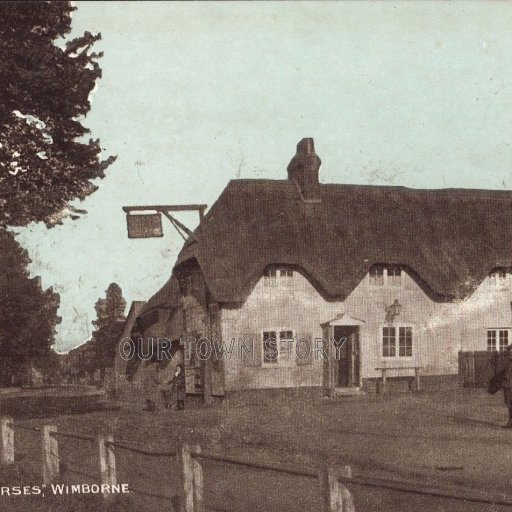 Coach & Horses, Wimborne Minster, c. 1900