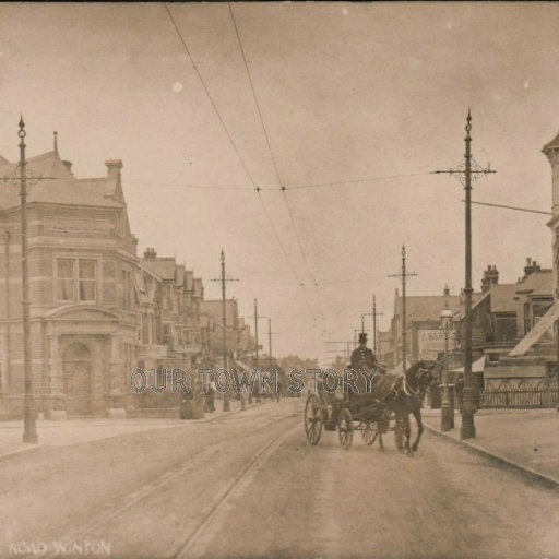 Wimborne Road, Winton, Bournemouth, c. 1900