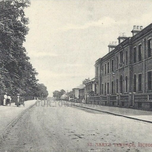 St Mary's Terrace, Victoria Road, Diss, Date Unknown