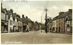 High Street, Woodstock, Oxfordshire, c. 1910s/1920s