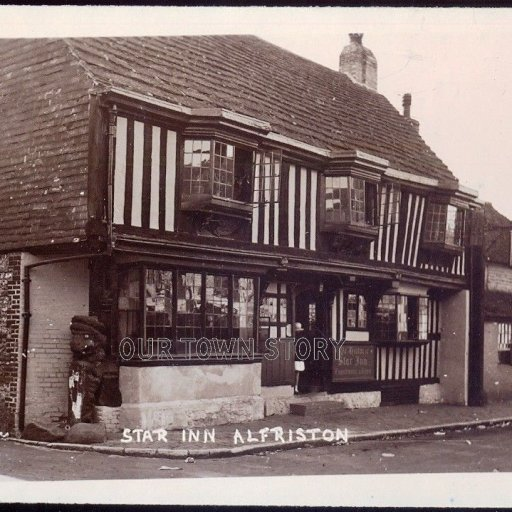 The Star Inn, Alfriston, East Sussex, Date Unknown