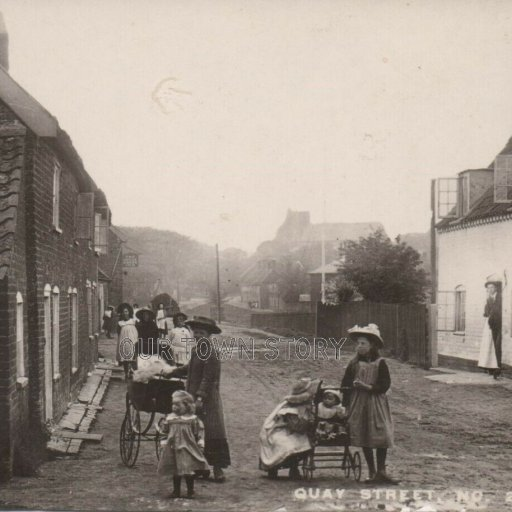 Quay Street, Orford, Suffolk, c. 1900s