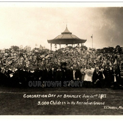 Coronation Day, Bramley Park, June 22nd 1911
