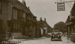 The Star and George Inns, Alfriston, c. 1930s