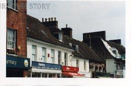 The Square, Wimborne Minster, 1998