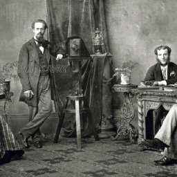 oldest-photo-studio-shows-rediscovered-images-bbc-news