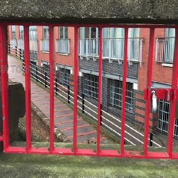 why-are-there-red-doors-in-bridges-bbc-news